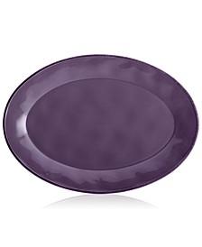 Cucina Lavender Purple Oval Platter