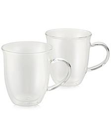 2-Pc. Glass Espresso Cup Set