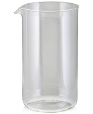 BonJour 8-Cup French Press Coffee Maker Carafe, Clear 2650231