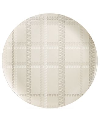 CLOSEOUT! Home Design Studio Oversized Plaid Statement Tray, Only at