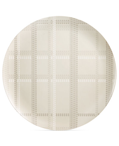 CLOSEOUT! Home Design Studio Oversized Plaid Statement Tray, Created for Macy's