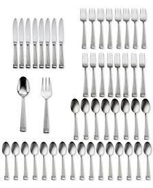 Amsterdam 50-Pc Flatware Set, Service for 8, Created for Macy's