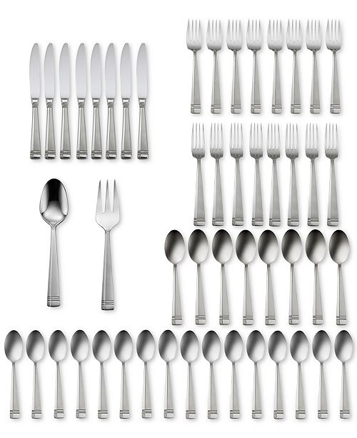 Oneida Amsterdam 50-Pc Flatware Set, Service for 8, Created for Macy's