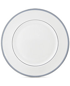 Vera Wang Wedgwood Grosgrain Indigo Dinner Plate