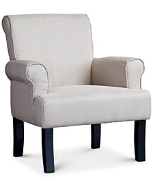 CLOSEOUT! Kerena Wing Chair, Quick Ship