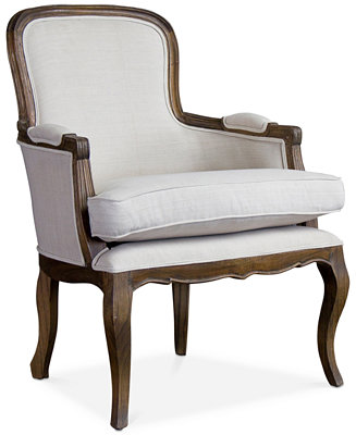 Furniture Layland Traditional French Accent Chair Quick