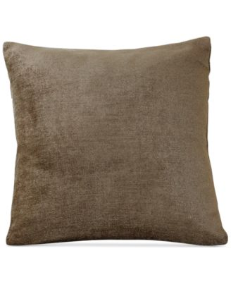 "Victoria Soild Velvet 18"" Square Decorative Pillow"