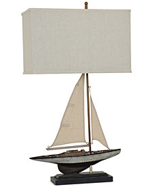 Crestview Sailings Away Table Lamp