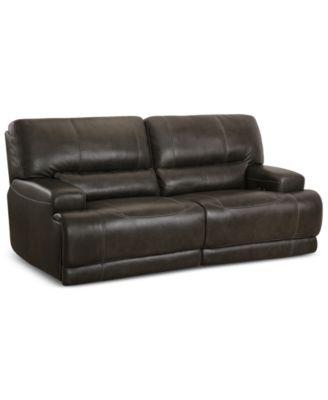 Warrin 2 Pc Leather Power Reclining Sofa