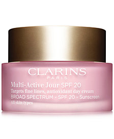 Clarins Multi-Active Day Cream SPF 20 - All Skin Types, 1.7 oz