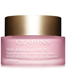 Clarins Multi-Active Day Cream SPF 20 - All Skin Types, 1.7 oz.