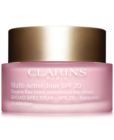 Clarins Multi-Active Day Cream SPF 20 - All Skin Types, 1.7 oz