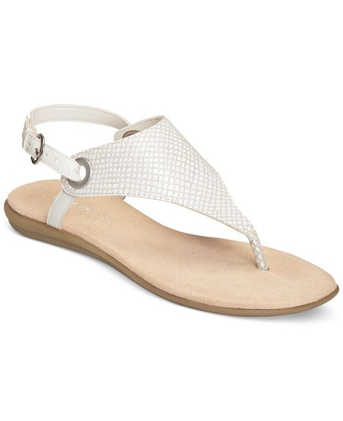 fd3e954c1343 Aerosoles Conchlusion T-Strap Slingback Thong Sandals   Reviews ...