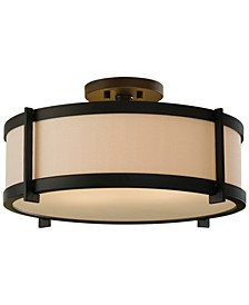 Stelle 2-Light Semi-Flush Mount