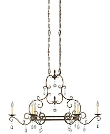 Chateau 6-Light Single-Tier Chandelier