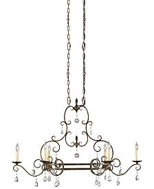 Feiss Chateau 6-Light Single-Tier Chandelier