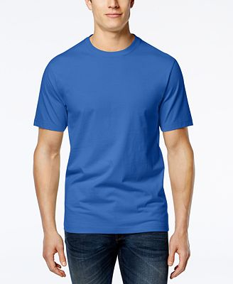Club Room Men's Crew-Neck T-Shirt, Created for Macy's - T-Shirts ...