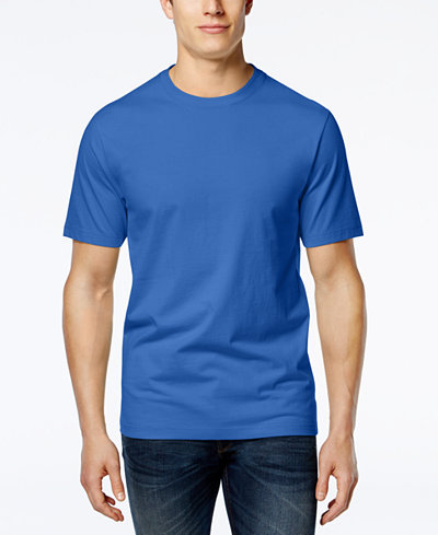 Club Room Men's Crew-Neck T-Shirt, Created for Macy's - T ...
