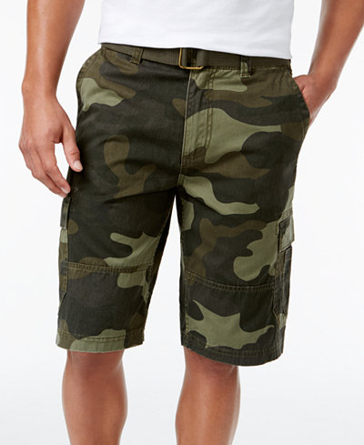 American Rag Men's Camo Cargo Shorts, Created for Macy's - Shorts ...