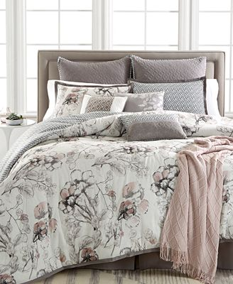 closeout! kelly ripa home pressed floral 10-pc. reversible