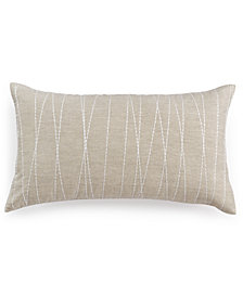 "Hotel Collection Waffle Weave 14"" x 24"" Decorative Pillow"