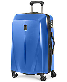 "CLOSEOUT! Travelpro Walkabout 3 25"" Expandable Hardside Spinner Suitcase, Created for Macy's"