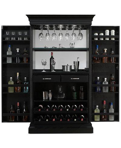 Angelina Wine Cabinet, Quick Ship