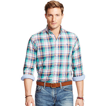 Polo Ralph Lauren Mens Plaid Shirt