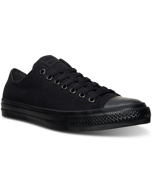 ca7122cace7 ... Converse Men s Chuck Taylor All Star II Lo Mono Casual Sneakers from  Finish ...