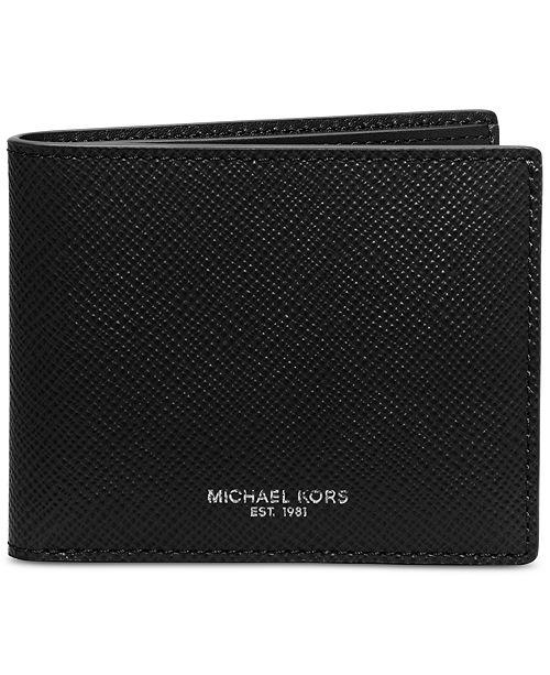 09fec25fdb65 ... Michael Kors Michael Kors Men s Harrison Slim RFID Billfold ...