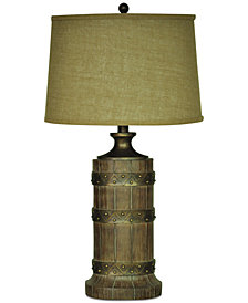 Crestview Plankroad Table Lamp