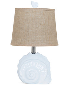Crestview Shell Table Lamp