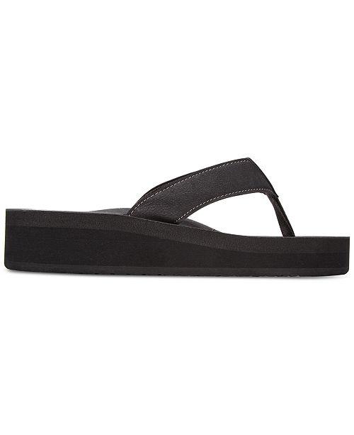 4121e1225f REEF Cushion Butter Flatform Flip-Flops & Reviews - Sandals & Flip ...