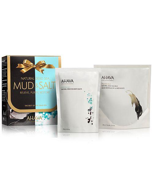 Ahava Natural Deadsea Mud and Salt Set