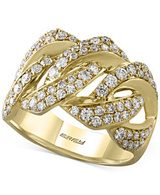 D'Oro by EFFY Diamond Ring (1-1/8 ct. t.w.) in 14k Gold