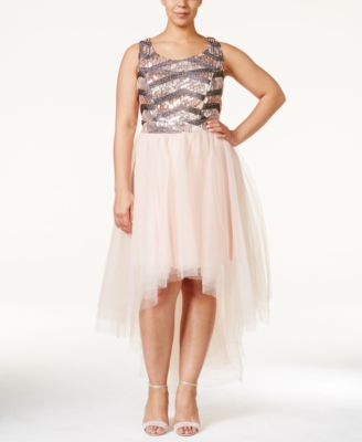 Trixxi high-low maxi dress