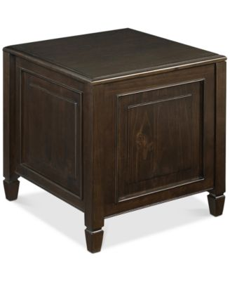 Perfect Barker End Side Table With Tray, Quick Ship