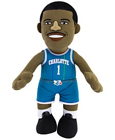 """Bleacher Creatures Tyrone """"Muggsy"""" Bogues Charlotte Hornets Plush Player Doll"""