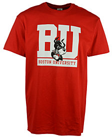 J America Men's Boston Terriers Big Logo T-Shirt