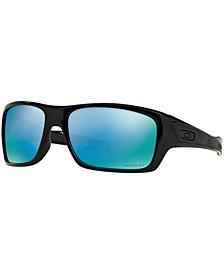 Polarized Polarized Sunglasses , OO9263 Turbine Prizm Deep H2O