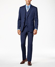 Men's Stretch Performance Solid Slim-Fit Suit Separates, Created for Macy's