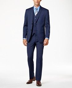 a04becd1273f6 Alfani Men's Stretch Performance Solid Slim-Fit Suit Separates, Created for  Macy's