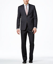 Lauren Ralph Lauren Charcoal Solid Total Stretch Slim-Fit Suit Separates