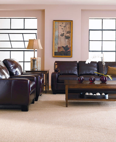Hampton Leather Sofa Living Room Furniture Collection. Hampton Leather Sofa Living Room Furniture Collection   Furniture