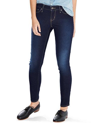 Levi's 811 Curvy Skinny Jeans - Levi's 811 Curvy Skinny Jeans - Juniors Jeans - Macy's