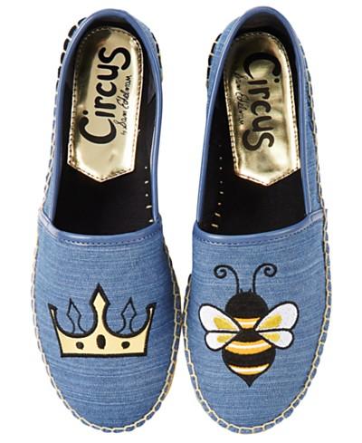 Circus By Sam Edelman Leni Queen Bee Espadrille Flats