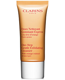 Receive a FREE Deluxe One-Step Exfoliating Cleanser with $99 Clarins Purchase!
