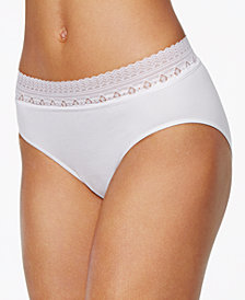 Bali Comfort Revolution Lace Brief 803J