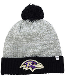 '47 Brand Baltimore Ravens Coverage Knit Hat