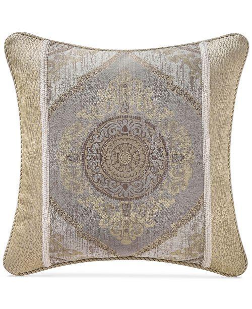 "Waterford Marcello 20"" Square Decorative Pillow"